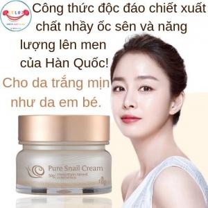 Kem Dưỡng Trắng Da Ốc Sên Guboncho Pure Snail Cream